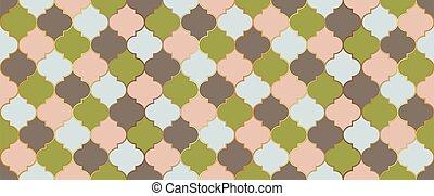 turco, motif., marroquí, mosaico, ventana, pattern., mezquita, seamless