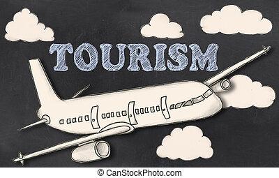 Turismo en la pizarra