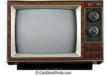 TV de vintage
