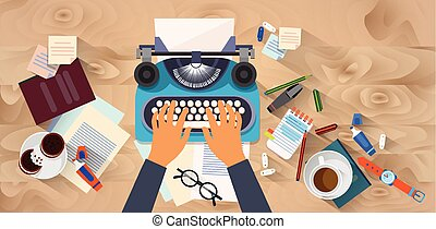 typewrite, de madera, escritor, texto, textura, vista, cima, mecanografía, ángulo, manos, autor, escritorio, blog
