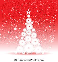 Un árbol de Navidad hermoso