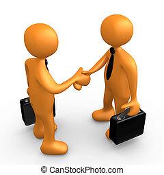 Un acuerdo de negocios