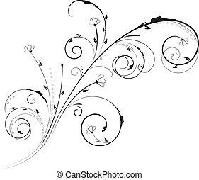 Un adorno floral