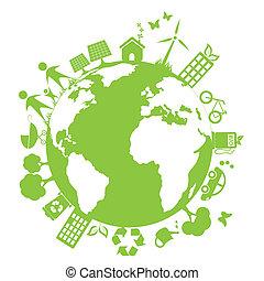 Un ambiente limpio y verde
