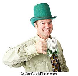 Un americano irlandés en el día de Patrick