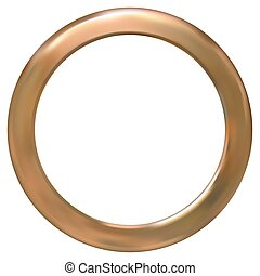 Un anillo de oro