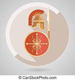 Un antiguo icono guerrero