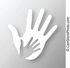 Un aparato para manos