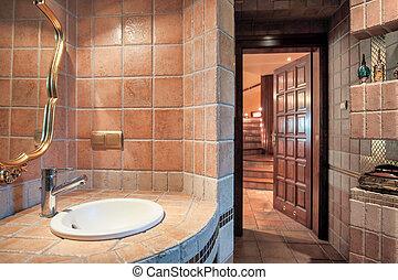 Un baño caliente de lujo