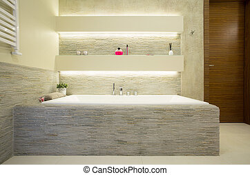 Un baño confortable