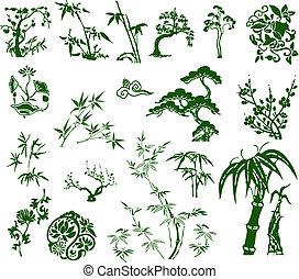 Un bambú chino clásico