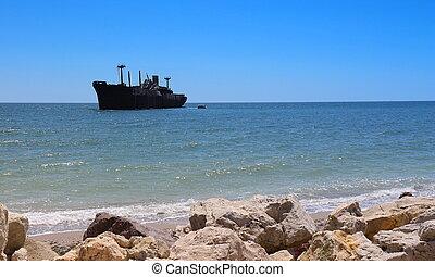 Un barco fantasma