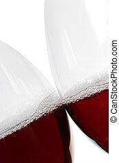 Un beso de vino