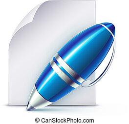 Un bolígrafo elegante