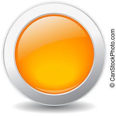 Un botón brillante