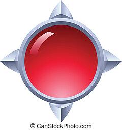 Un botón de Ruby