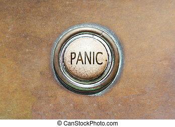 Un botón viejo, pánico