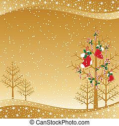 Un brillante pasado navideño