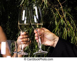 Un brindis por el champán