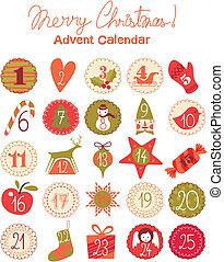 Un calendario de aventuras