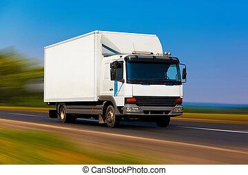 Un camión pequeño