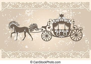 Un carruaje real