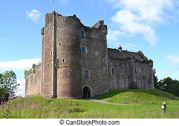 Un castillo de dúo histórico en Escocia