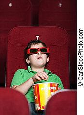 Un chico en el cine