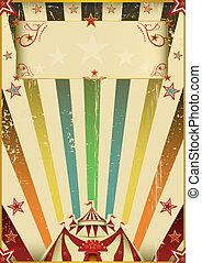 Un circo de colores fantástico