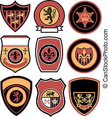 Un clásico emblema real