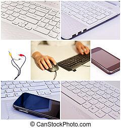 Un collage tecnológico