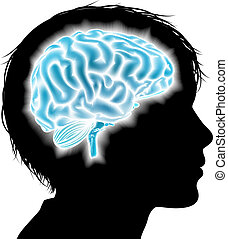 Un concepto cerebral infantil
