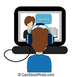 Un concepto de aprendizaje electrónico