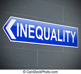 Un concepto de desigualdad.