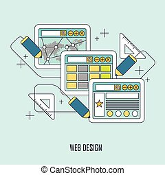 Un concepto de diseño web
