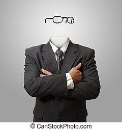 Un concepto de hombre invisible