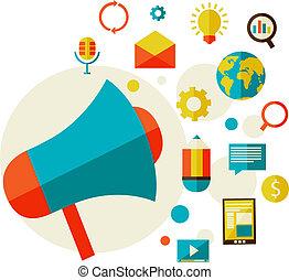 Un concepto de marketing digital