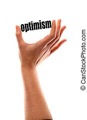 Un concepto de optimismo más pequeño