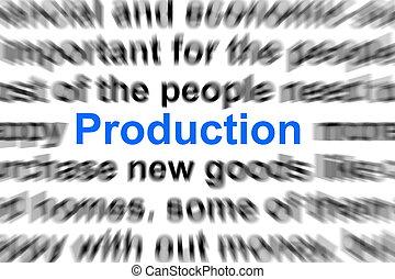 Un concepto de producción
