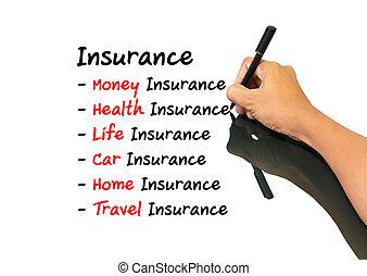 Un concepto de seguro