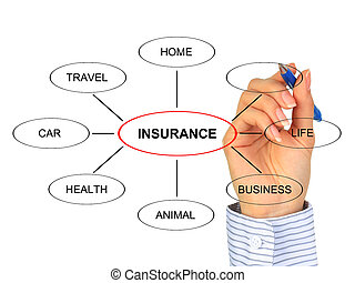 Un concepto de seguro.