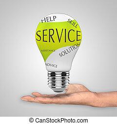 Un concepto de servicio