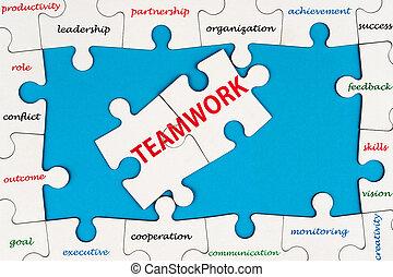 Un concepto de trabajo en equipo