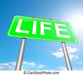 Un concepto de vida.