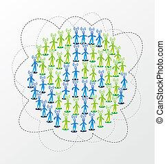 Un concepto global de la red de medios sociales