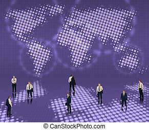 Un concepto mundial de negocios