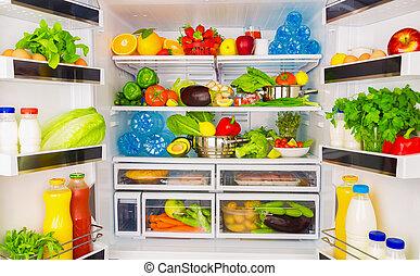Un concepto saludable de comida