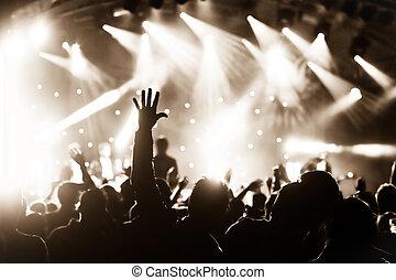Un concierto en vivo