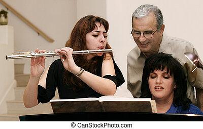 Un concierto familiar
