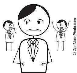 Un conflicto de hombres de negocios